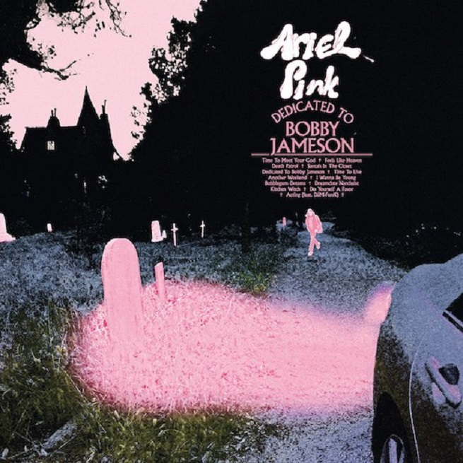 The cover of Ariel Pink 2017's new album Dedicated to Bobby Jameson