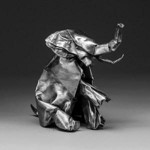 Black Origami cover album