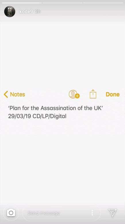 Kode9 new album Plan of The assassination of the UK.jpeg