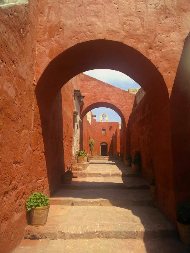 The monastery of Santa Catalina in Arequipa