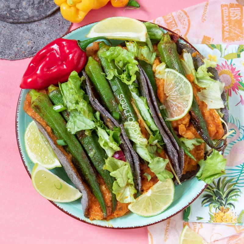 pom pomtayer vegan taco's recept