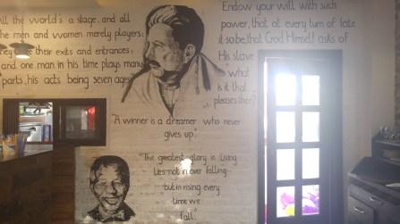 National Poet Allama Iqbal, Nelson Mandela