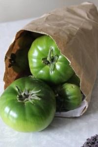 Heirloom Green Tomatoes