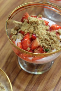 Finish with ginger crumb and enjoy!