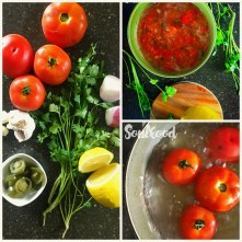 salsa collage