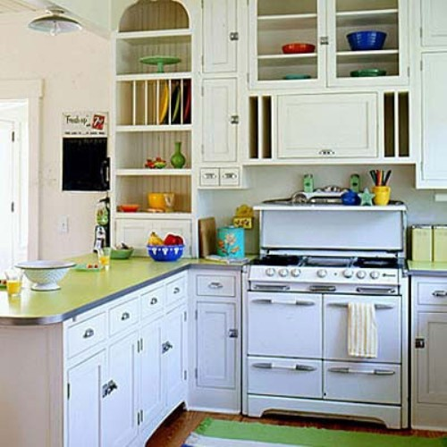 A Kitchen With Vintage Character: DIY: Creating Character With Vintage Stoves