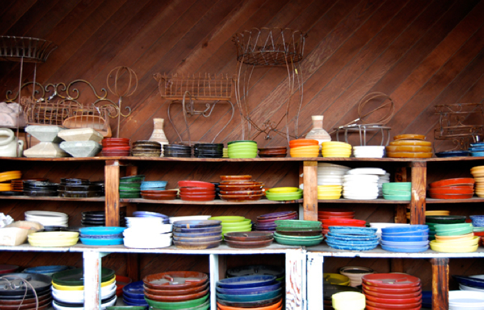 Huge selection of pots and accessories