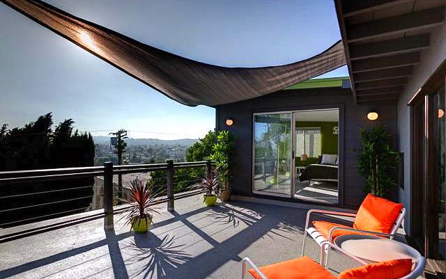 Deck with unobstructed views