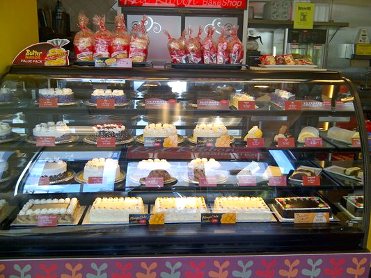 Baked goodies at Goldilocks