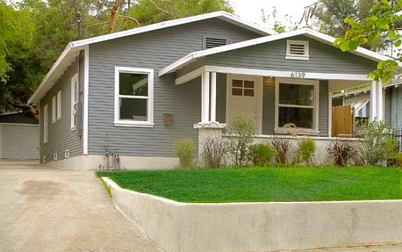1925 California Bungalow: 6139 Burwood Ave., Los Angeles, 90042