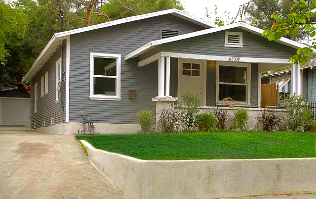 1925 California Bungalow: 6139 Burwood Ave., Los Angeles, 90042