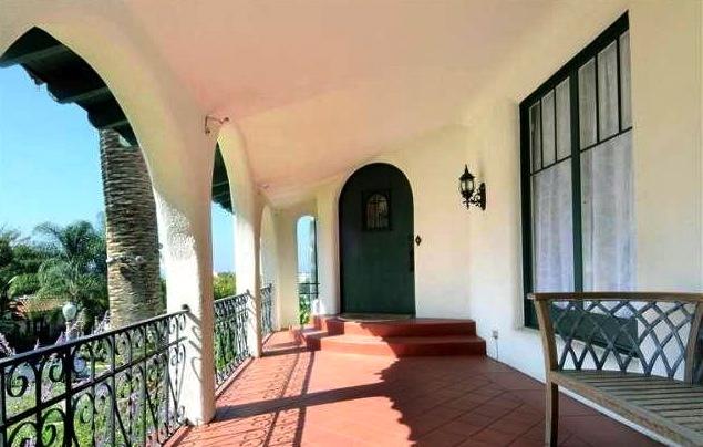 Breezy veranda with views