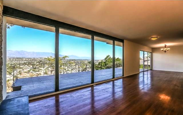 Living room with unobstructed views