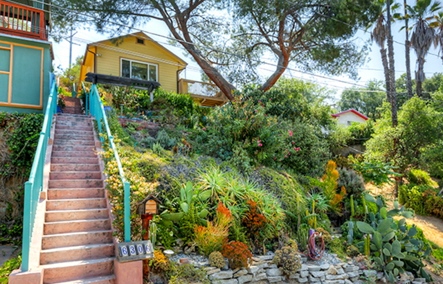 Nestled in the treetops in Highland Park's Garvanza District