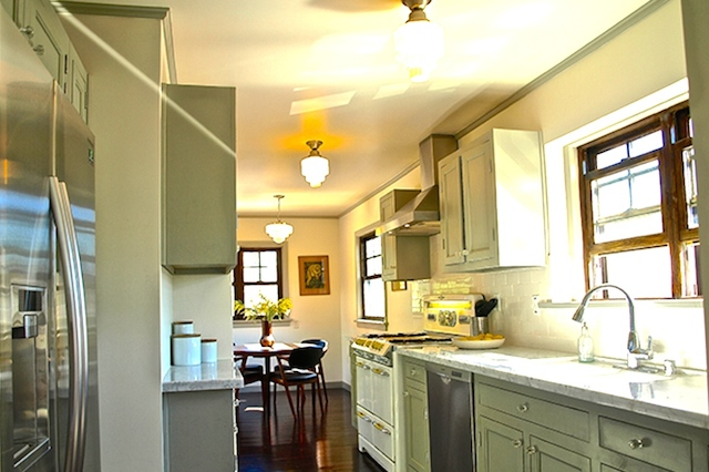 Thoughtfully redone galley kitchen