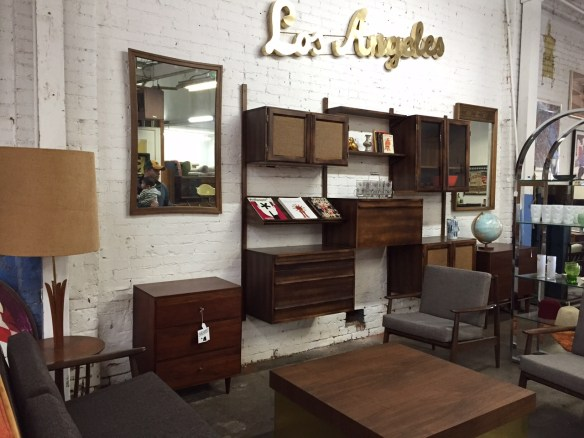Gorgeous vintage wall unit with an even better price