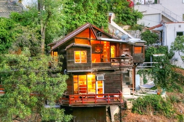 1930 Cabin: 409 Rustic Dr., Los Angeles, 90065