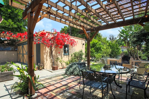 Patio with pergola