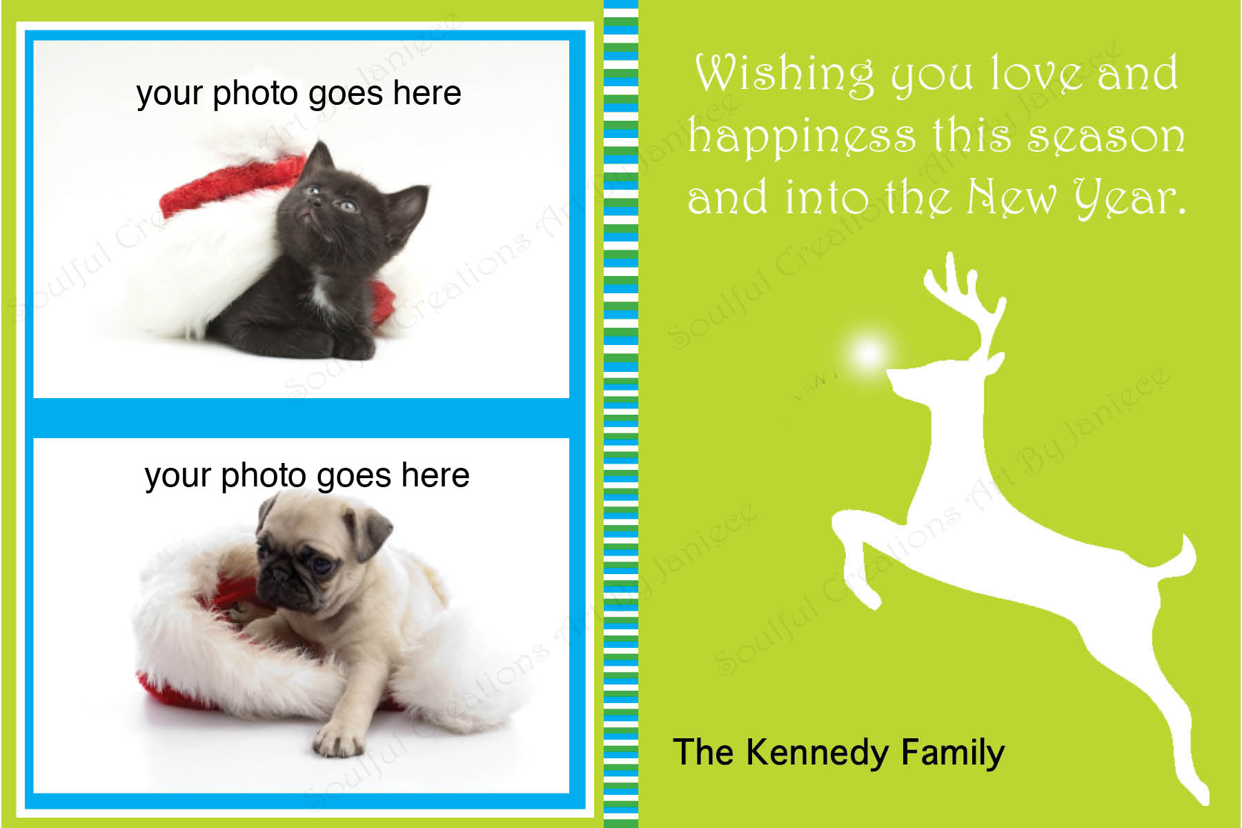 Christmas And Holiday Cards Personalized With Your Photo