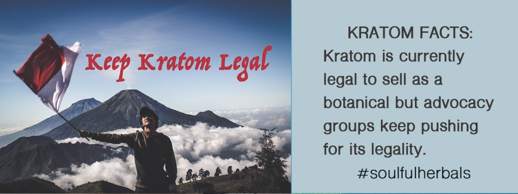 Kratom is Legal