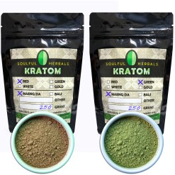 500g Kratom Powder Sampler - 250g x 2 Strains