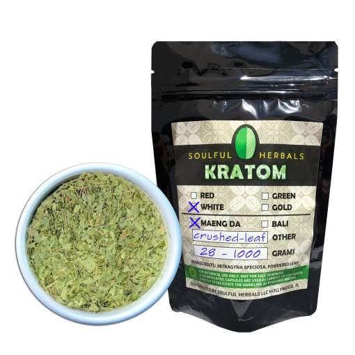 White Maeng Da Crushed Leaf Kratom