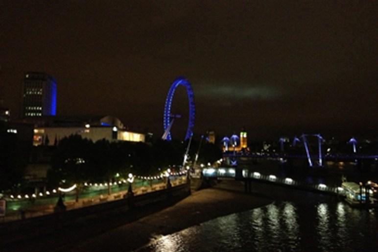London at night - taken by Sue Ellam, London, UK