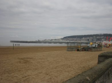 At the seaside in Weston-Super-Mare, UK - taken by Sue Ellam, London