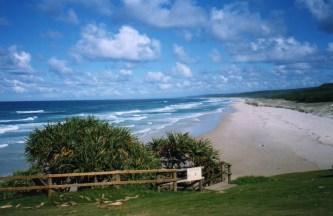 Beach at Point Lookout, Stradbroke Island, Queensland, Australia taken by Sue Ellam, London, UK