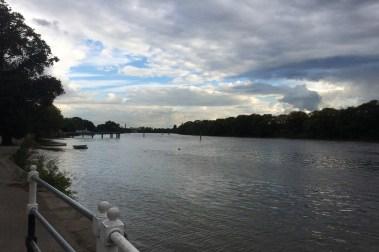 River at Kew, UK taken by Sue Ellam, London, UK