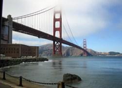 Golden Gate Bridge, San Francisco, USA taken by Sue Ellam, London, UK