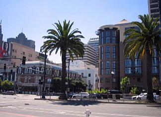A view of San Francisco, USA taken by Sue Ellam, London, UK