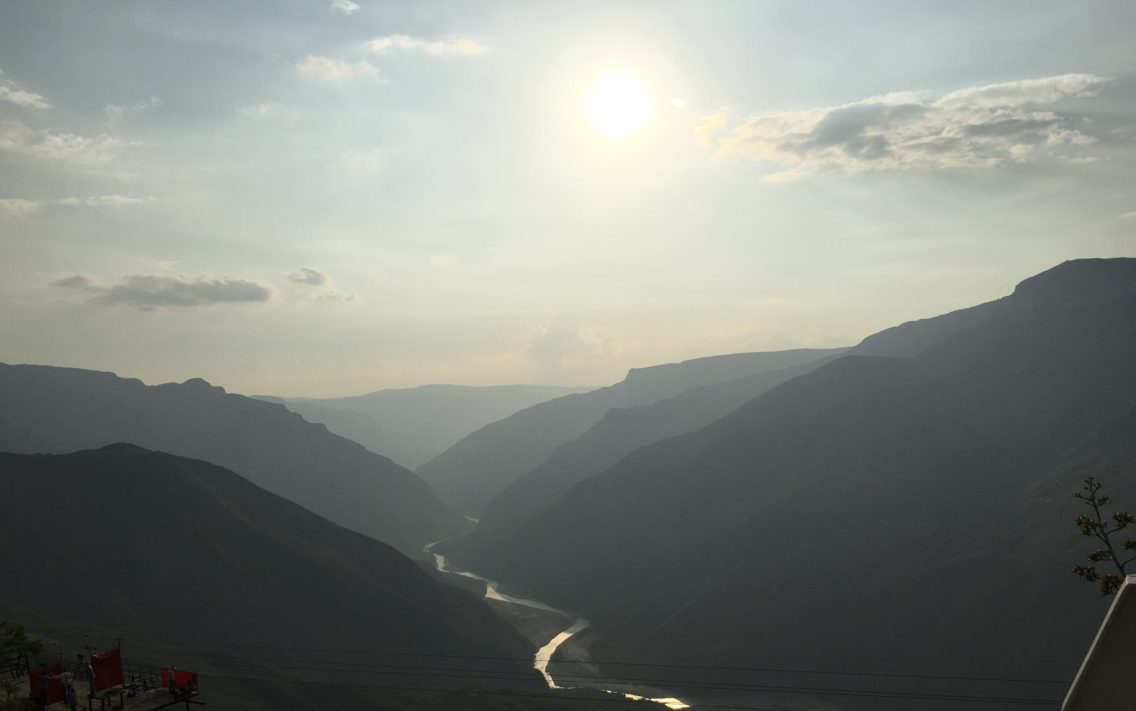 Late afternoon sun at Chicamocha Canyon (Cañón del Chicamocha), Colombia. Taken by Peter Thompson, UK