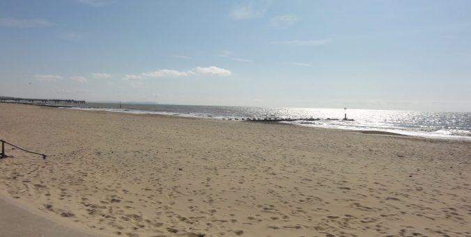 Beach at Bournemouth, UK. Taken by Peter Thompson, UK.