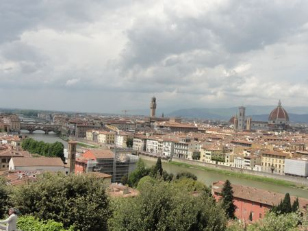 View over Florence, Italy. Taken by Ervin Corzo.