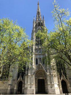 L'église de St Maurice, Lille, France. Taken by Peter Thompson