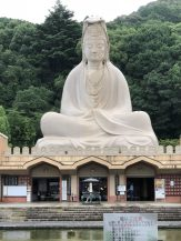 Goddess of Mercy at the Ryōzen Kannon War Memorial commemorating the dead of the Pacific War located in Eastern Kyoto, Japan. Taken by Ervin Corzo.