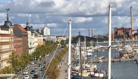 Marina at Helsinki, Finland. Taken by Ervin Corzo