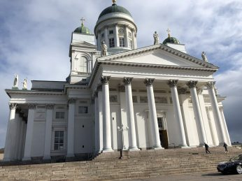 Helsinki Cathedral, Finland. Taken by Peter Thompson