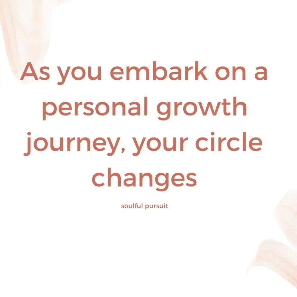 personal growth: losing friends