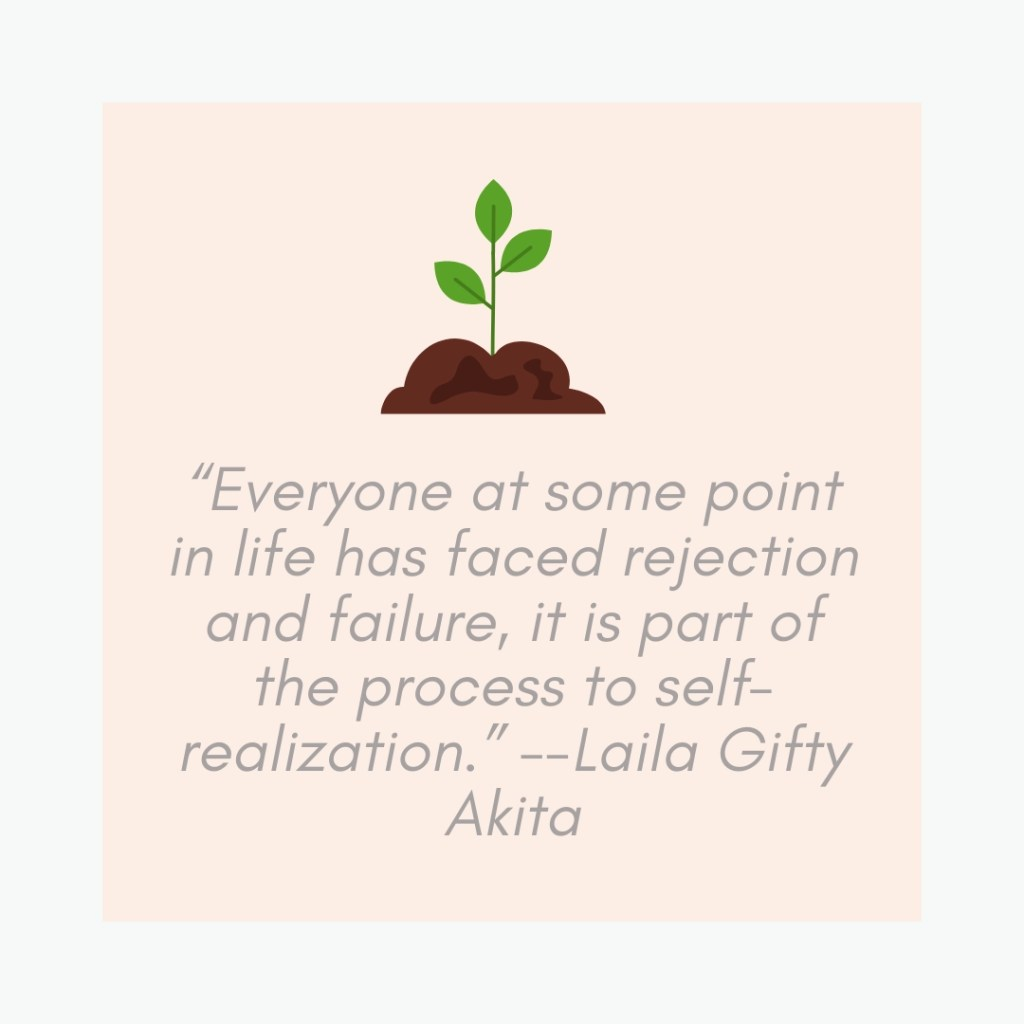 rejection is necessary for growth