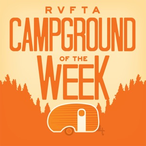 Now you can listen to us on Campground of the week Podcast!!