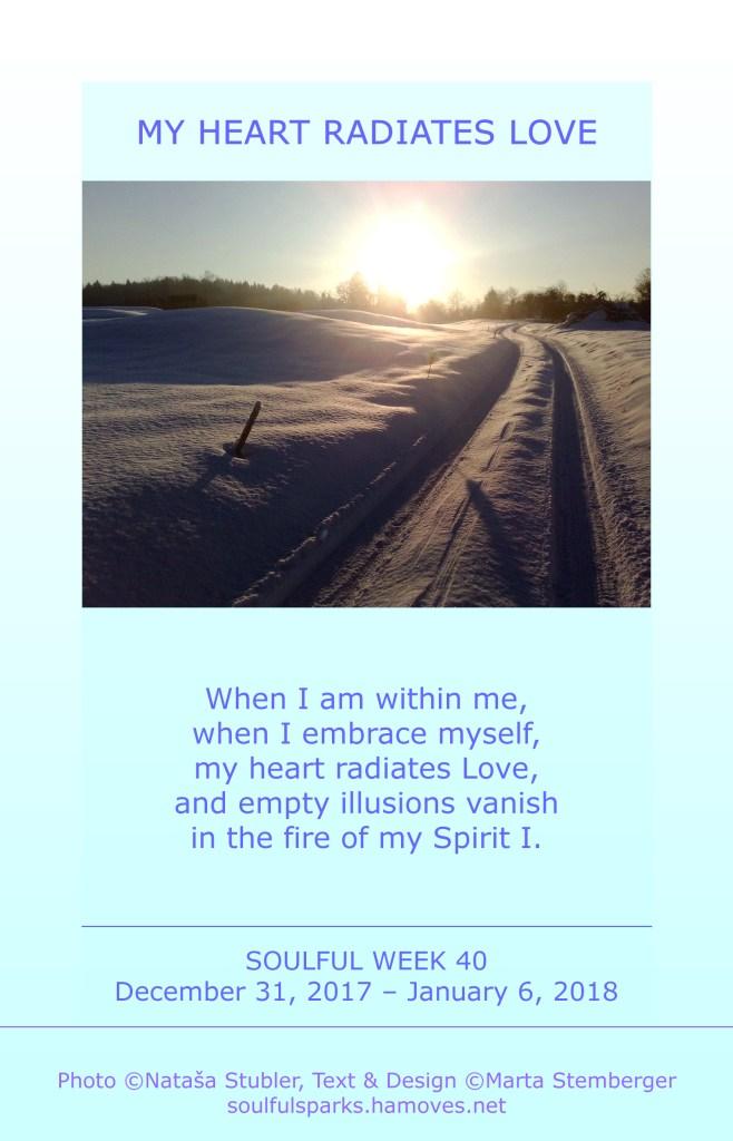 My Heart Radiates Love