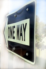 One Way Sign: Life Purpose Coaching
