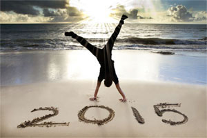 Happy New Year 2015 from Intuitive Spiritual Counselor Yol Swan