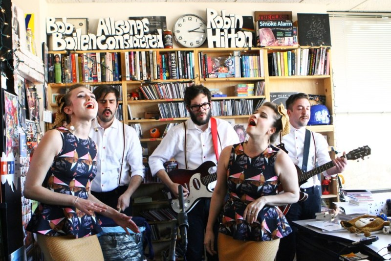 Lucius_Tiny Desk Concert