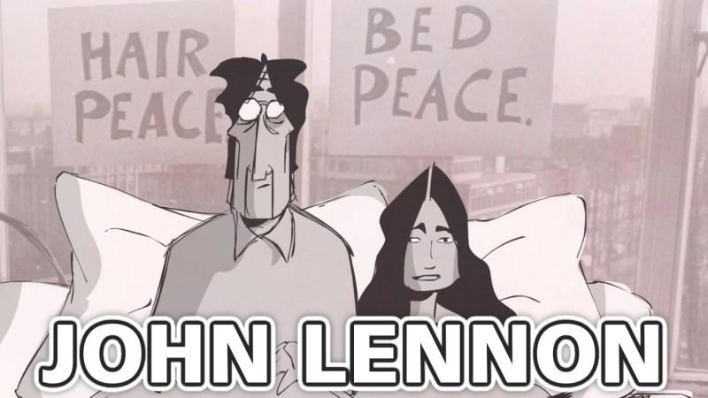 john lennon yoko ono blank on blank