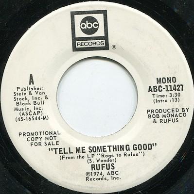 Rufus-Tell Me Something Good (REMIX)