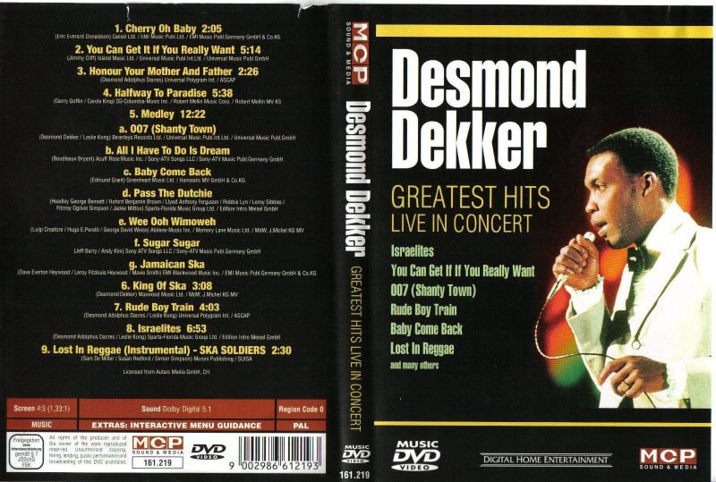 desmond dekker greatest hits live