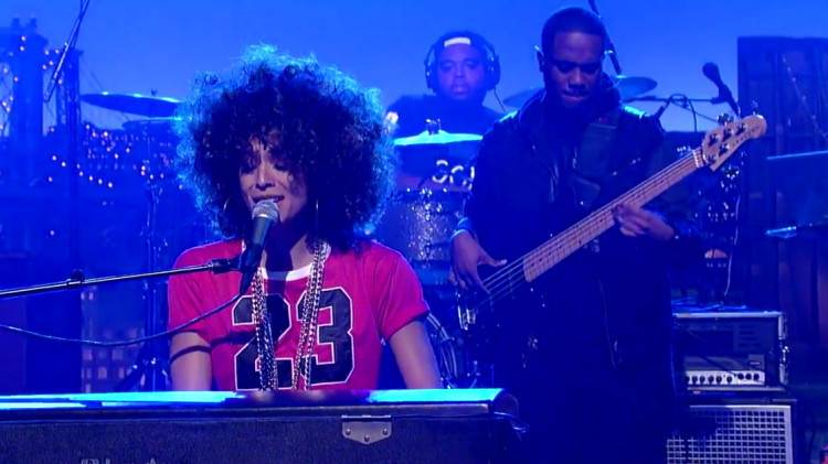 Kandace Springs - Love Got In The Way (LIVE @ Late Show with David Letterman) [Video]